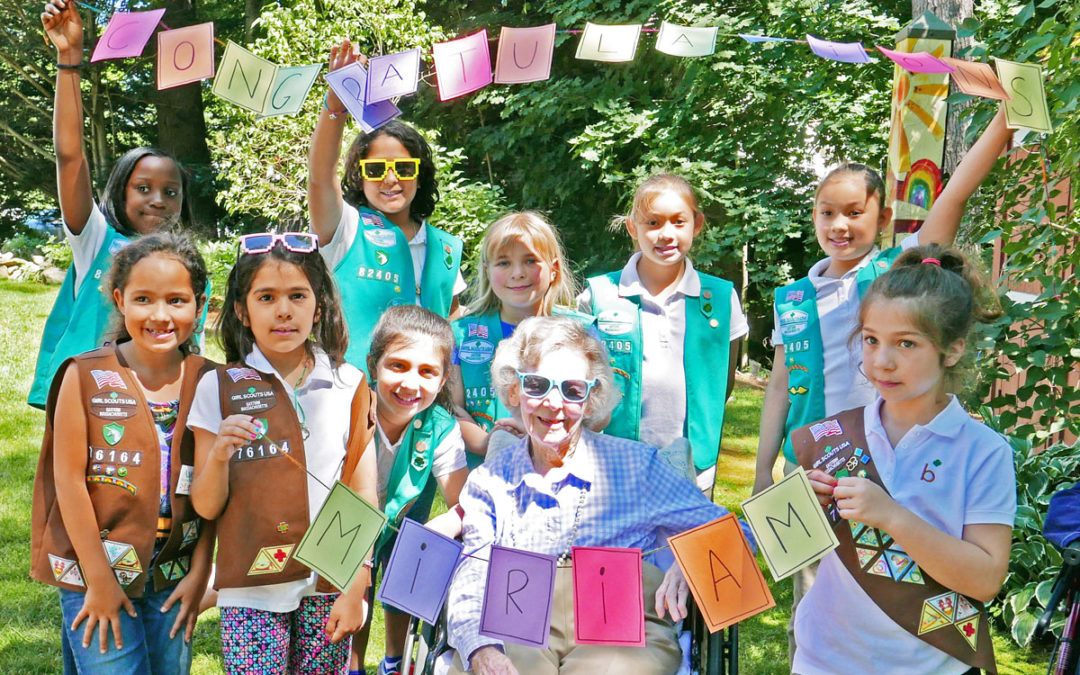 Worth Waiting For: Earning a Girl Scout Campfire-Building Badge at Age 100