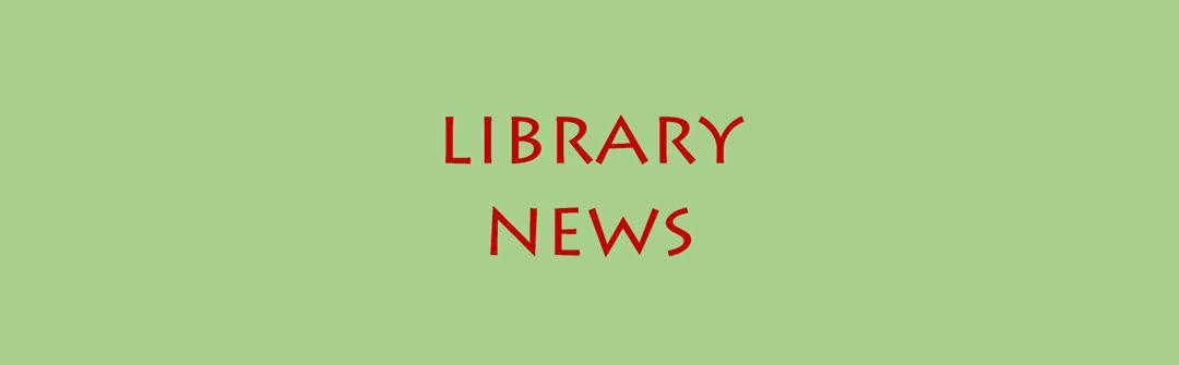 April Short Takes from the Bedford Free Public Library